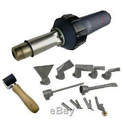 110V 1600W TPO PVC JC Hot Air Welder Plastic Welding Gun nozzle+roller