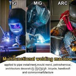110V 220V Weld Aluminum Welder LED 200A 5in1 MIG TIG ARC Stick Welder+ Spool Gun