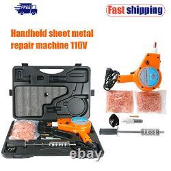 110V Dent Puller Welder Set Car Body Spot Repair Device Stud Welding Hammer Gun