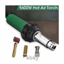 110V Hot Air Gun Welding Torch 1600W Heat Gun Plastic Welder Roofing Welder K