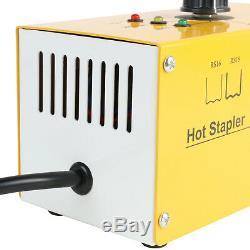 110V Hot Stapler Plastic Welder Gun Car Bumper Welding Repair Tool+700pc Staples