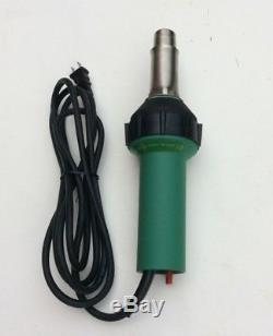 110V Vinyl Floor Plastic Welding Gun /Hot Air Gun For Welder Heat Gun+ Flat Nose