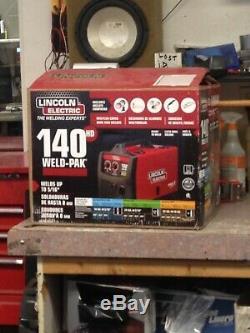 140 Amp Weld Pak 140 HD MIG Wire Feed Welder with Magnum 100L Gun