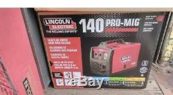 140 Amp Weld Pak 140 HD MIG Wire Feed Welder with Magnum 100L Gun New in Box