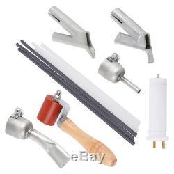 1600W 110V Hot Air Torch Plastic Rod Welding Gun Pistol Welder Machine Heat Kits