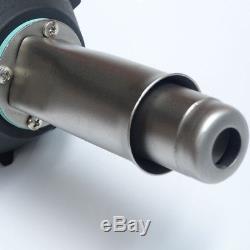 1600W 110V Welding PVC Air Torch Plastic Welding Gun Welder Pistol Speed Nozzle
