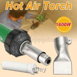 1600W 220V 30-680 Hot Air Torch Plastic Rod Welding Gun Pistol Welder New