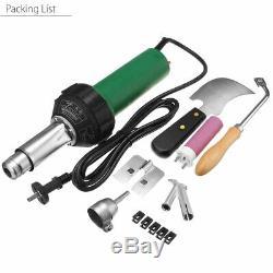 1600W 220V Hot Air Torch Plastic Welding Gun Welder Pistol Tool Kit withNozzle