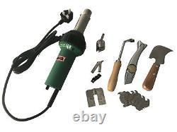 1600W Handheld Plastic Welder Hot Air Gun Vinyl Welding Heat Gun 2600Pa