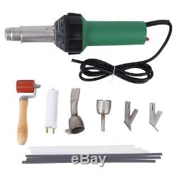 1600W Hot Air Torch Heat Gun Set Plastic Welding Gun Welder Pistol+Case