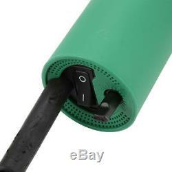 1600W Hot Air Torch Plastic Welding Gun Pistol PVC Welder + 2 Nozzles + Roller
