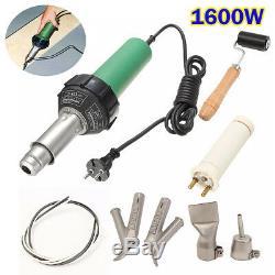 1600W Hot Air Torch Plastic Welding Gun Welder Pistol+ 2pcs Speed Nozzle d u Q