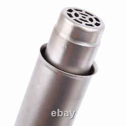 1600W Hot Air Torch Plastic Welding Gun Welder Pistol + Speed Nozzle + Roller