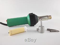 1600W Hot Air Torch Plastic Welding Gun Welder Pistol flooring welding tools