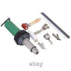 1600W Hot Air Torch Plastic Welding soldering Gun Heat Pistol Welder Nozzle Rods