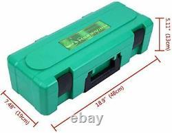 1600W Plastic Welder Welding Hot Air Gun with Speed Nozzles Roller & Accesories