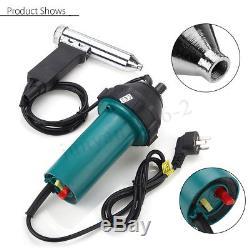 1600With1080W AC220V Hot Air Plastic Welding Torch Gun Welder Kit + Nozzles Roller