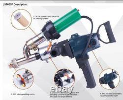 1PC Hand Extruder Gun Plastic Welding gun Extrusion Welder Machine New 220V
