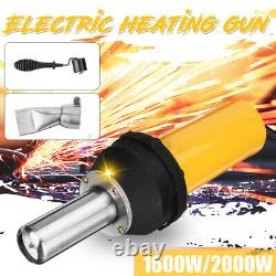 2000W Electric Corded Hot Air Heat Gun Welding Heating Welder Workshop Tool