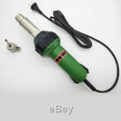 220V 1600W High Power Plastic Welding Gun Kit PVC Hot Air Heat Welder+Accessory