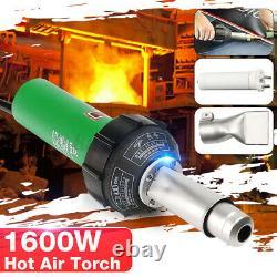 220V 1600W Hot Air Torch Heat Gun Plastic Welding Gun Welder Pistol Tool Kit