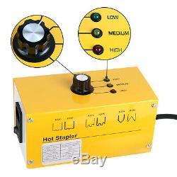 220V AC Hot Stapler Welder Gun Welding Machine Plastic Repair Kit 700PCS Staples