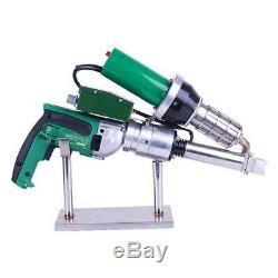 220V Hand Extruder Plastic Repair Seam Welder Extrusion Welding Gun LST600B