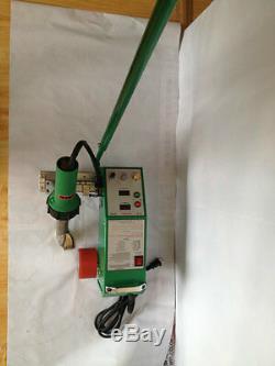 220V Leister Gun 1600W Intelligent PVC Flex Banner Seam Welder Welding Machine