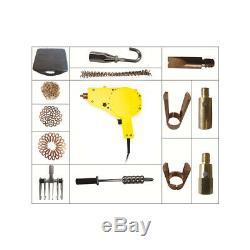 220V Spot Stud Welder Dent Puller Gun Welding Kits with More Accessories EU