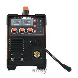 3-IN-1 MIG Welder DC 200A Inverter MMA TIG Gas Gasless Arc Spool Welding Gun US
