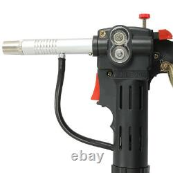 33 Feet Toothed Roller MIG Spool Gun Wire Feed Aluminum Welder Torch Weld Parts