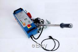 3600W Intelligent TPO PVC Flex Banner Seam Welding Machine with Heat gun 220V