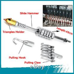 78/86Pcs Car Body Dent Welder Puller Spot Repair Device Welding Gun Slide /