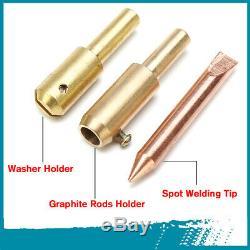 78/86Pcs Car Body Dent Welder Puller Spot Repair Device Welding Gun Slide