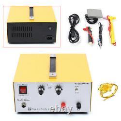 80A Laser Spot Welder Machine Handheld Welding Gun Gold Silver Welding Tool Kit