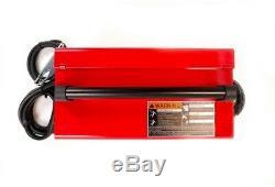 88 Amp Handy MIG Wire Feed Welder Gun Flux-Cored Wire Hand Shield Gas Regulator