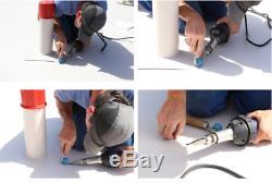 AC220V 40mm Plastic Powerful Hot Air Roofer Welder Welding Machine with Air Gun