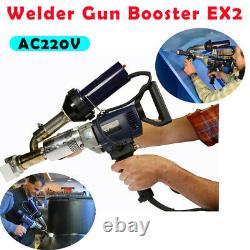 AC220V Plastic Extrusion Welding Machine Extruder Welder Gun Booster EX2