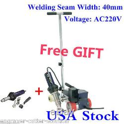 AC220V RW3400 TPO Roofer Welder Hot Air PVC Roof Welding 40mm Nozzle + Air Gun