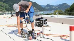 AC220V Weldy Roofer RW3400 Hot Air PVC Welder Roof Welding 40mm Nozzle + Air Gun
