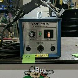 AGM 320SS Capacitor Discharge Stud/Pin Welder Gun stud 1/4 max diameter