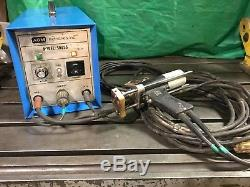 AGM 600 SS Portable Pin / Stud Welder 120V 15A With Stud Gun