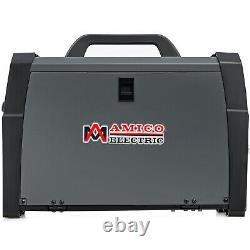 AMICO MIG-200, 200A MIG/MAG/TIG/Stick Arc Combo Welder, Spool Gun Weld Aluminum