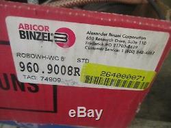 Abicor-Binzel Model ROBOWH-WC 8' Welding Torch Gun. Good Production Spare