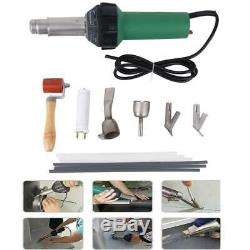 Adjustable 110V 1600W Hot Air Torch Heat Gun Set Plastic Welding Gun Welder