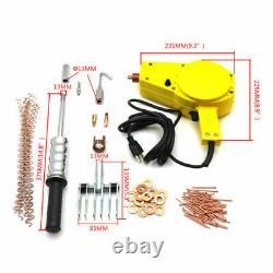 Auto Body Dent Repair Kit Spot Stud Welder Gun Dent Puller Kit Welding Wire Stud