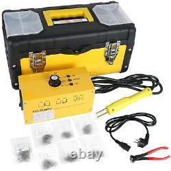 Auto Car Bumper Fairing Plastic Repair Welding Kit 110V Hot Stapler Welder Gun
