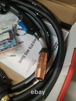 Bernard Q2015TO2EMC MIG FLUX Welding Gun Whip Lead Miller welder NO RESERVE