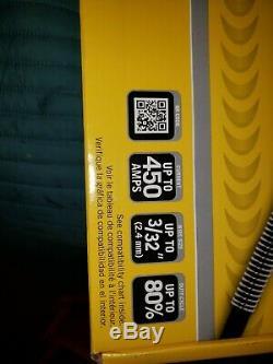 Brand new never used. Tweco Spraymaster Mig Gun v250 with Miller welder end