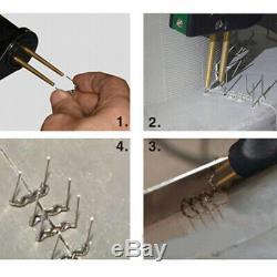 Car Bumper Repair Plastic Welder Kit Hot Stapler Plastic Welding Gun Machine